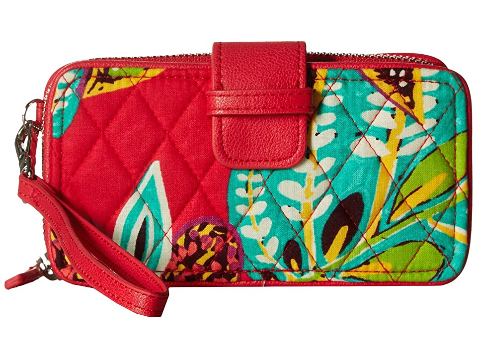 Vera Bradley RFID Smartphone Wristlet (Rumba) Wristlet Handbags