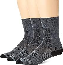Wrightsock Men's Coolmesh II Crew 3 Pack Socks
