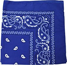 3 Pack Mechaly Dog Bandana Neck Scarf Paisley 100% Cotton Double Sided Bandanas - Any Pets