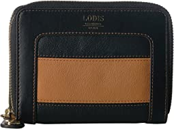 Laguna Rugby Laney Continental Double Zip Wallet