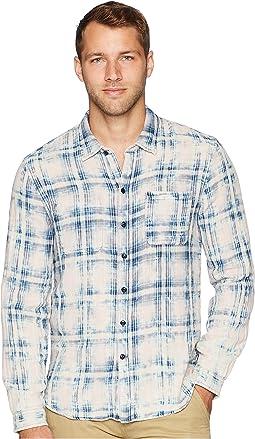 Double Faced Reversible Long Sleeve Shirt W600U2B