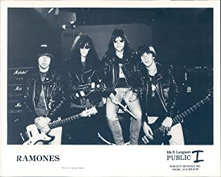 Vintage Photos Photo Ramones Musicians Johnny Joey Marky Dee Songwriters Ida Langsam 8x10