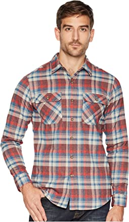 Performance Flannel Plaid Long Sleeve