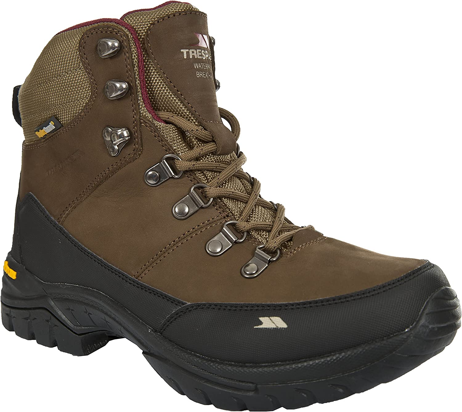 Trespass Womens Ladies Kenter Mid Cut Waterproof Hiking Boots