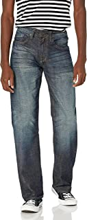 Buffalo David Bitton Men's Travis Relaxed Straight Leg Jean
