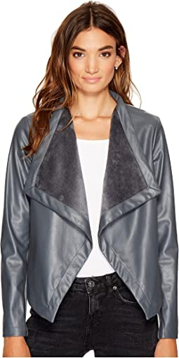 Gracelyn Drape Front Jacket