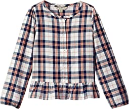 Lucky Brand Kids - Parker Yarn-Dyed Plaid Top (Big Kids)