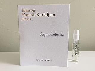 Maison Francis Kurkdjian Aqua Celestia Eau de Toilette, Deluxe Travel Szie, 0.06 oz