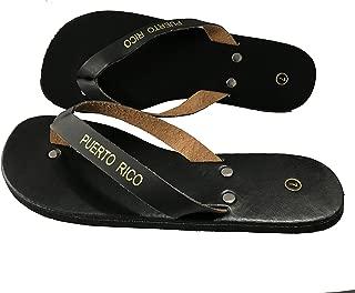 Puerto Rico Sandals Black