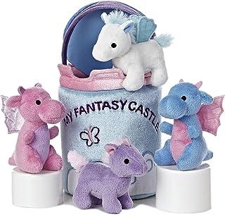 """Aurora World Baby Talk My Fantasy Castle Carrier Plush, 8"""""""