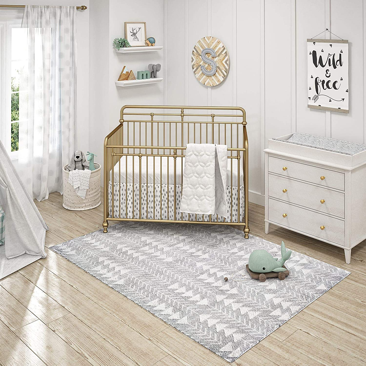 Little Seeds Serenity Archer Safety and trust Gray 10 low-pricing 8x10 x 8 Rugs