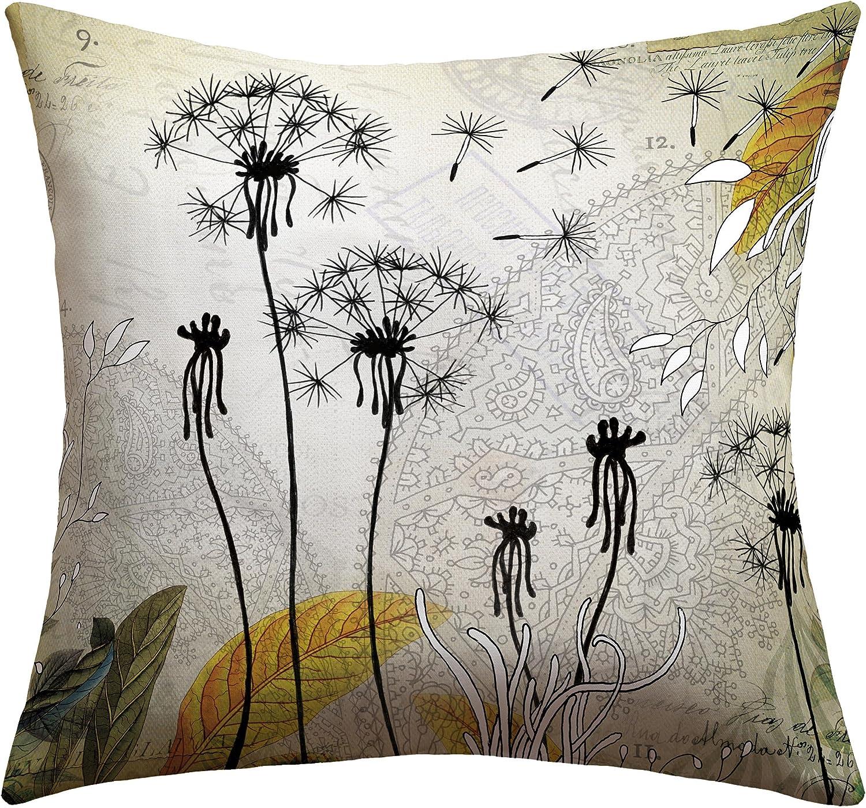 Deny Designs Iveta Abolina Little Dandelion Outdoor Throw Pillow, 16 x 16