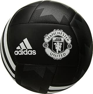 adidas Performance Manchester United FC Soccer Ball,  Black/White, 5