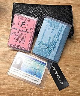 sélection premium ca887 8a975 Amazon.fr : etui permis de conduire - Femme / Portefeuilles ...