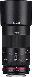 Samyang 100mm F2.8 ED UMC Full Frame Telephoto Macro Lens with Built in AE Chip for Nikon Digital SLR Cameras