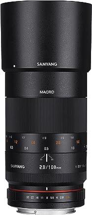 Samyang 100mm F2.8 ED UMC Full Frame Telephoto Macro Lens for Sony Alpha A Mount Digital SLR Cameras