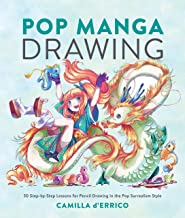 Pop Manga Drawing: 30 Step-by-Step Lessons for Pencil Drawing in the Pop Surrealism Style (English Edition)