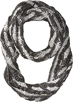 Plaited Cable Infinity Scarf