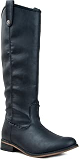Rider-18 Womens Classic Knee High Riding Boots