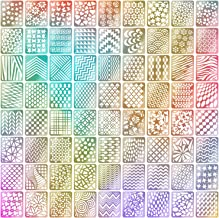 144 Pieces Nail Vinyls Stencils Nails Stickers Set, 24 Sheets 72 Different Designs Cute Easy Nail Art Decal Stickers Stencils Sheets