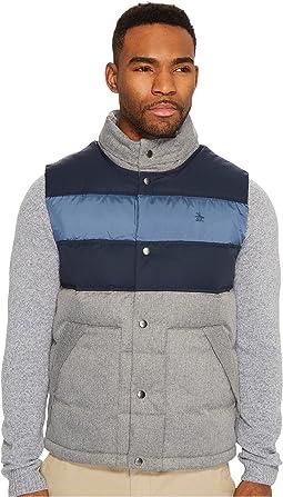 Original Penguin - Color Blocked Down Filled Vest