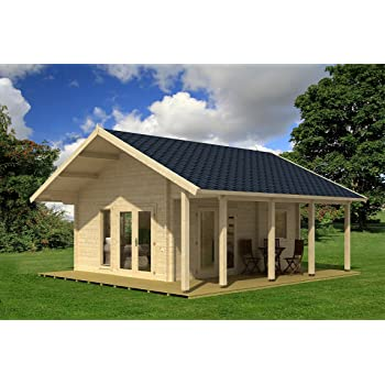 Allwood Bella | 237 SQF Cabin Kit with 86 SQF Loft ONE Left in Stock
