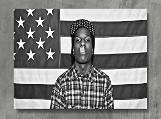 APPLEpie ASAP Rocky Music Poster High Definition Posters Standard Size 24 x 18 inch