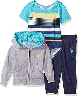 U.S. Polo Assn. Baby Boy's T-Shirt, Jacket and Pant Set Pants