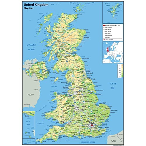 Map of England: Amazon.co.uk