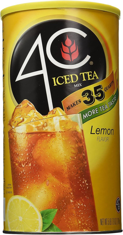 4c Lemon Iced Tea Mix 5 oz 8 New products world's highest 5 ☆ very popular quality popular of lb 2.6 SET