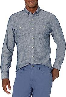 Amazon Brand - Amazon Brand - Goodthreads Men's Standard-Fit Long-Sleeve Chambray Shirt