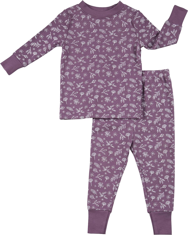 Robeez Baby Girls 2-Piece Cotton Modal Sleep Set