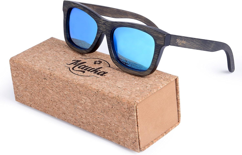 Wood Sunglasses   Handmade   Polarized Lenses   Cork Case   Men and Women