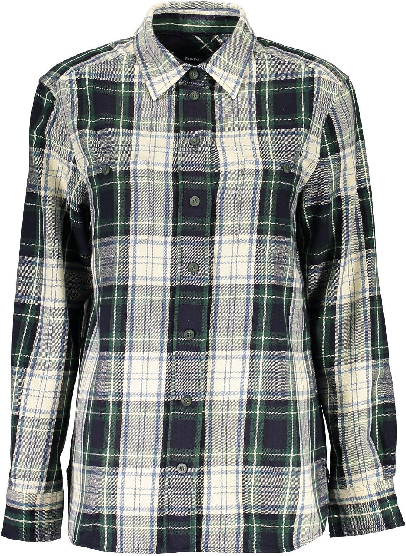 Gant 1403.432121 Shirt Long Sleeves Women Multicolor 318 40