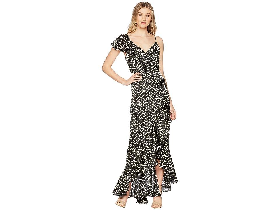 JILL JILL STUART Ruffle Printed Gown (Keira Print) Women