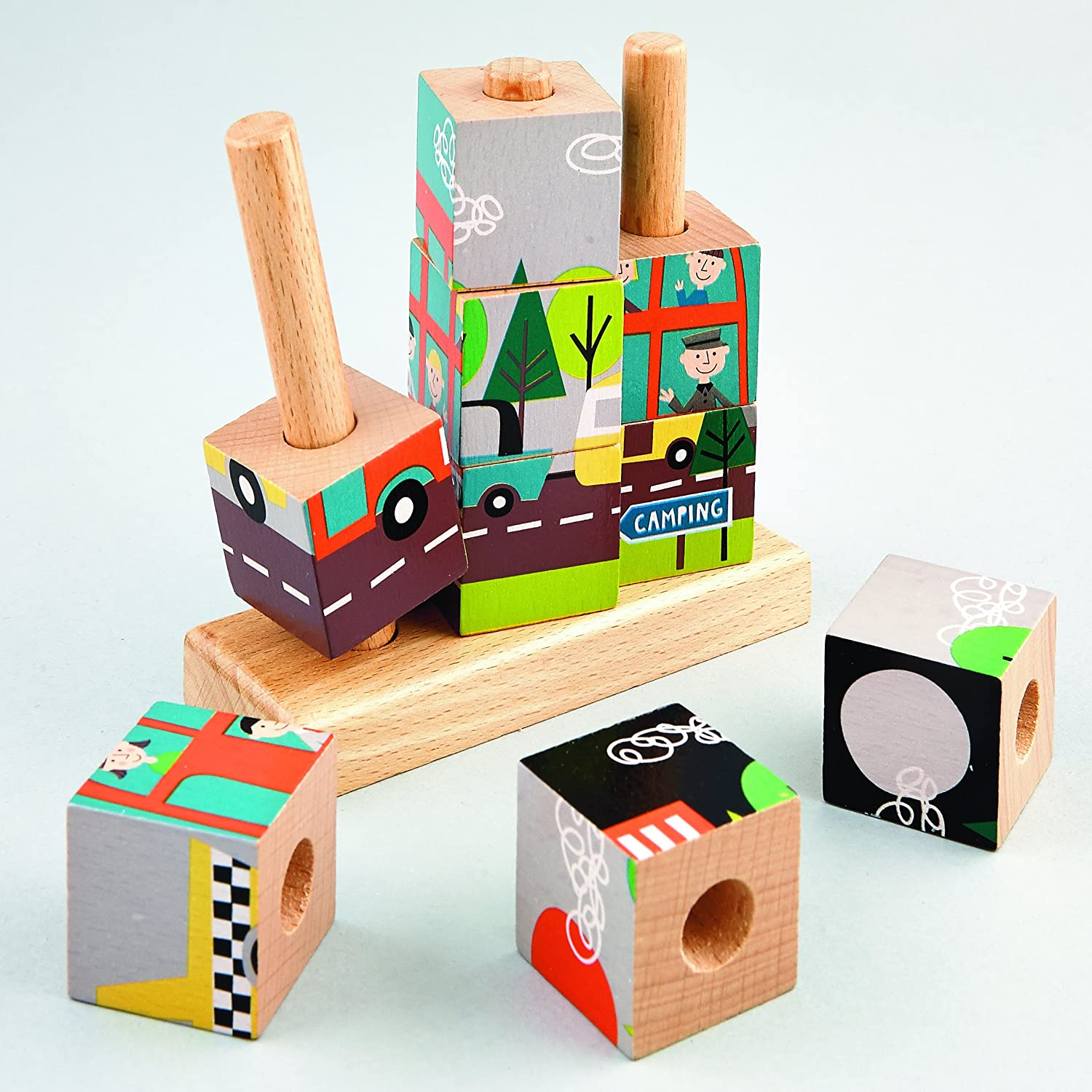Transport Wooden Cube sold out Directly managed store Puzzle