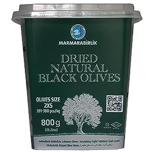 Marmarabirlik Exclusive Black Olive 28 oz (Kuru Sele)
