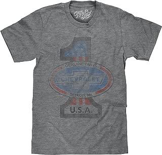 Tee Luv Chevy USA T-Shirt - Genuine Parts Vintage Chevrolet T-Shirt