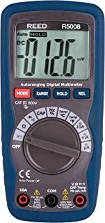 REED Instruments R5008 Compact Digital Multimeter with Temperature