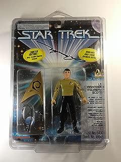 Star Trek Lt Commander Montgomery Scott Limited Edtion Action Figure