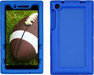 Bobj Rugged Case for Lenovo Tab 3 7 inch Models TB3-730F, TB3-730X (Does not fit Lenovo TB3-710F, TB3-710I) - BobjGear Custom Fit - Patented Venting - Sound Amplification - Kid Friendly (Batfish Blue)