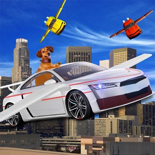 Voando Robô Carro- Robô Transformação jogos 3d
