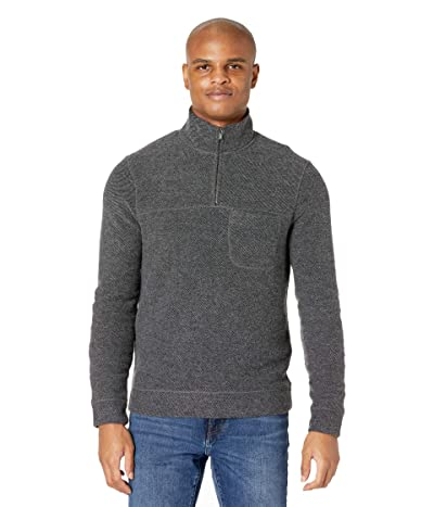 Toad&Co Breithorn 1/4 Zip Sweater (Charcoal Heather) Men