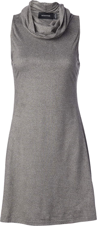 MINKPINK Women's Urban Escape Roll Neck Dress