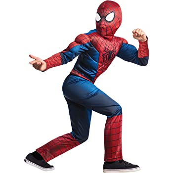 Disfraz The Amazing Spiderman 2 deluxe para niño - 5-7 años - 5-7 ...
