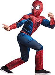 Rubie's Marvel Comics Collection, Amazing Spider-man 2, Deluxe Spider-man Costume, Child Large - Child Large One Color