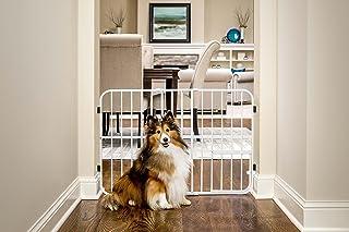 Carlson Pet Products Tuffy Puerta de Metal expandible para Mascotas, Incluye pequeña Puerta para Mascotas