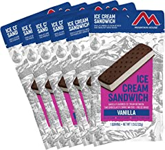 Mountain House Vanilla Ice Cream Sandwich | Freeze Dried Backpacking & Camping Food
