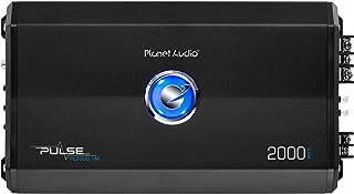 Planet Audio PL2000.1M Monoblock Car Amplifier – 2000 Watts, 2/4 Ohm Stable, Class..