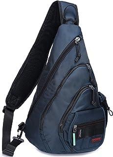 حقيبة ظهر سلينغ حقيبة، حقيبة ظهر بحمالة للكتف للكمبيوتر المحمول والسفر في الهواء الطلق